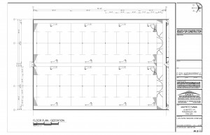 Moffet Farms Gestation room layout