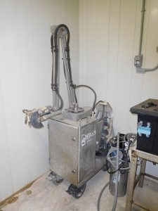 Schlegelhome Farms Inc. robotic pressure washer for cleaning rooms